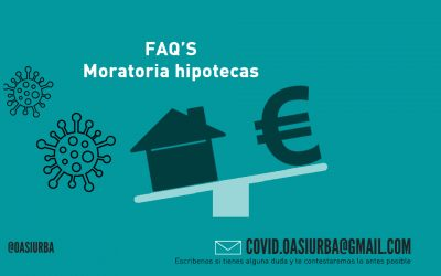 FAQ's Moratoria cuotas hipotecarias