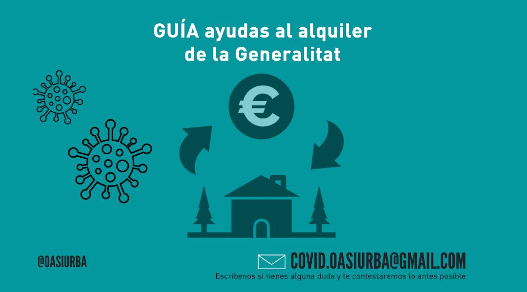 Guía ayudas al alquiler de la Generalitat